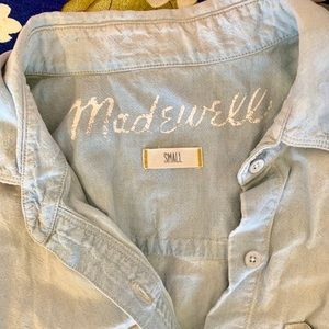 Madewell Chambray denim shirt Small